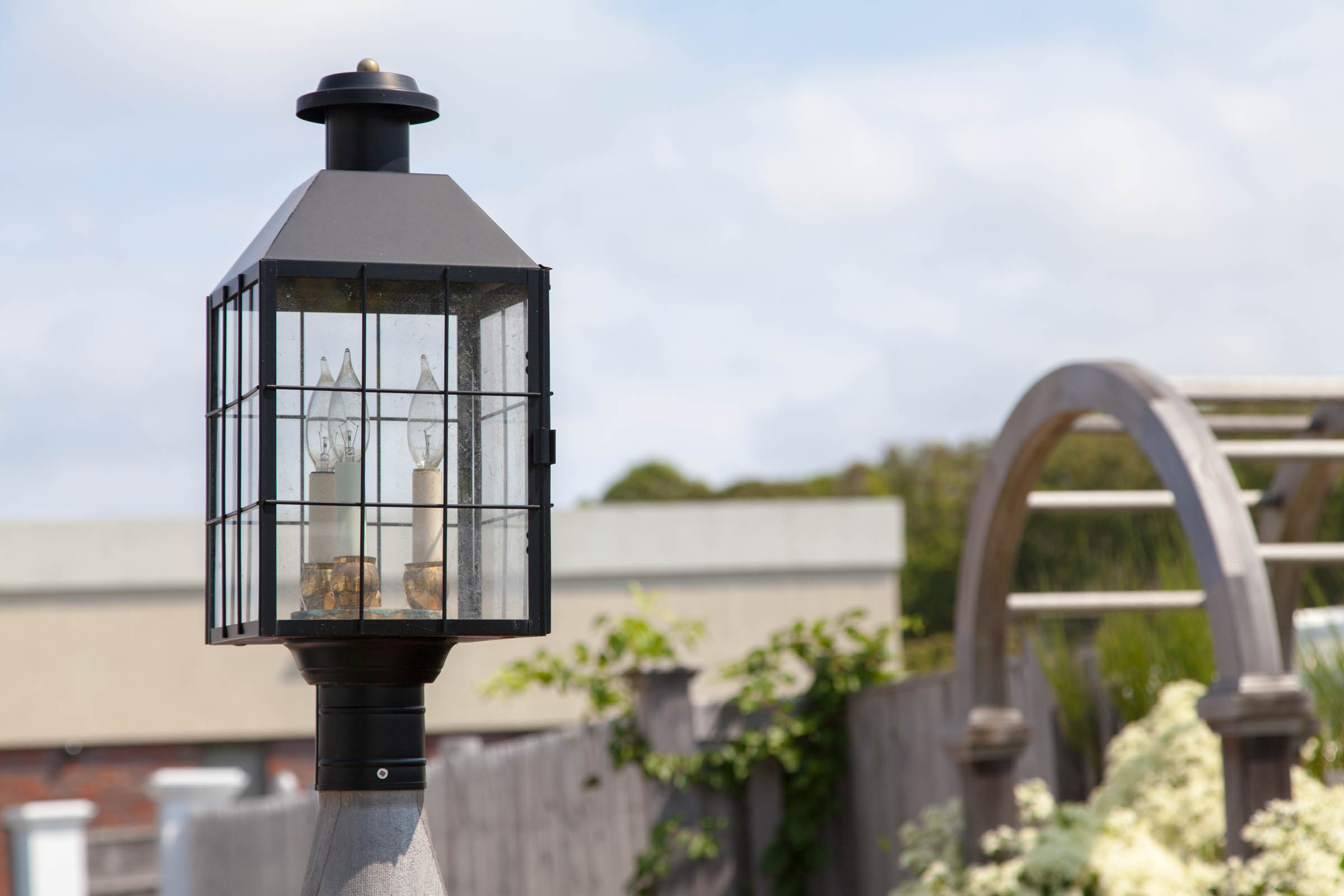 Norwell Lanterns Cape Cod Fence Company