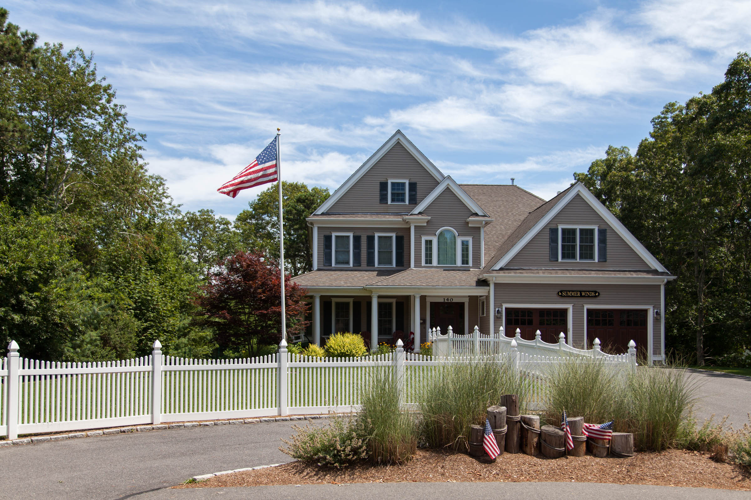 Provincetown Picket Fence Cape Cod Fence Company