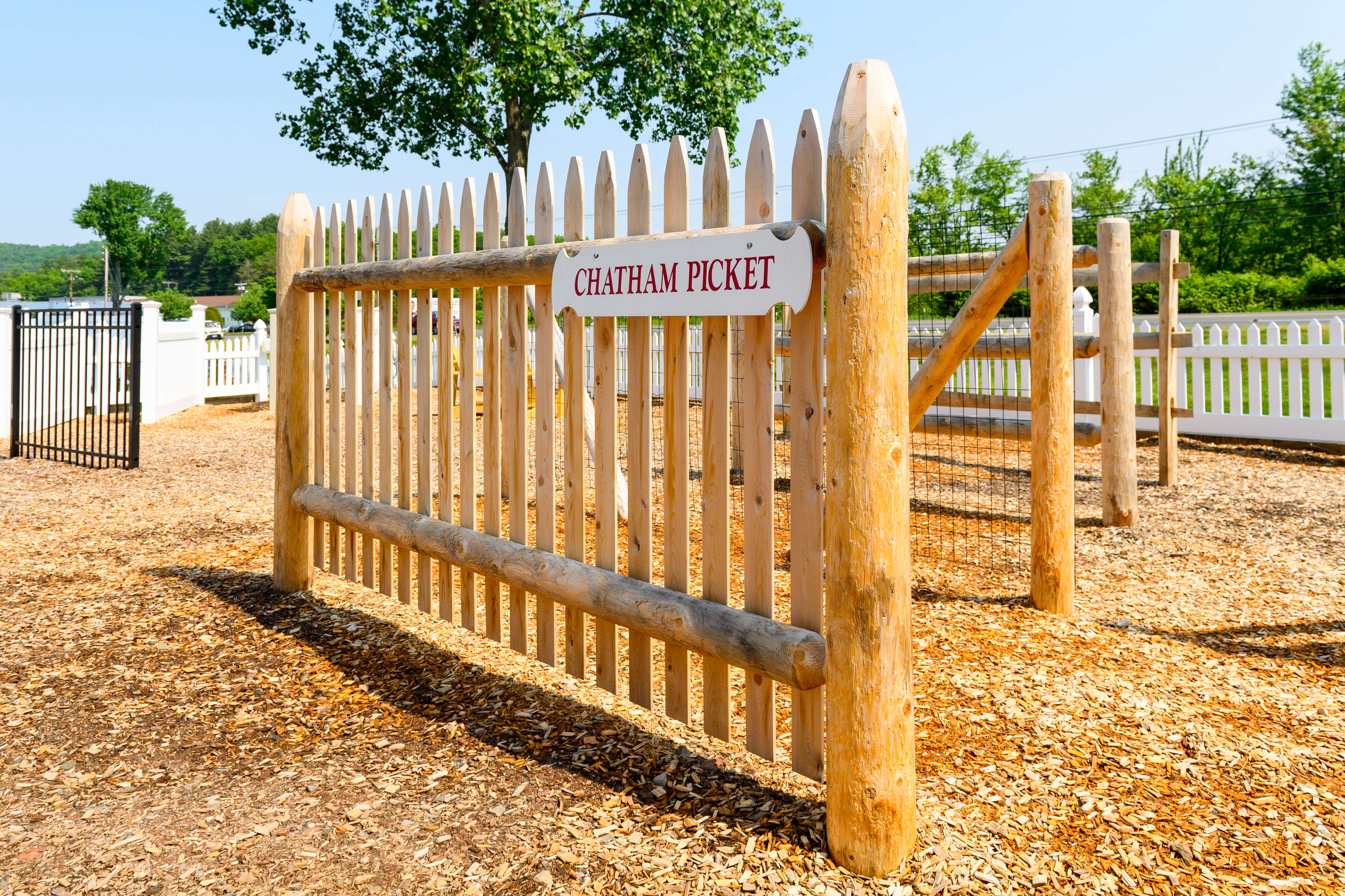 Chatham Picket Fence Cape Cod Fence Company