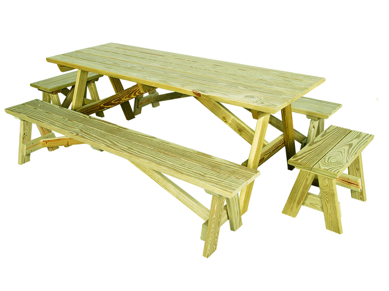 Outdoor furniture - wood picnic table