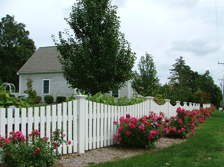 Falmouth Picket Fence Cape Cod Fence Company