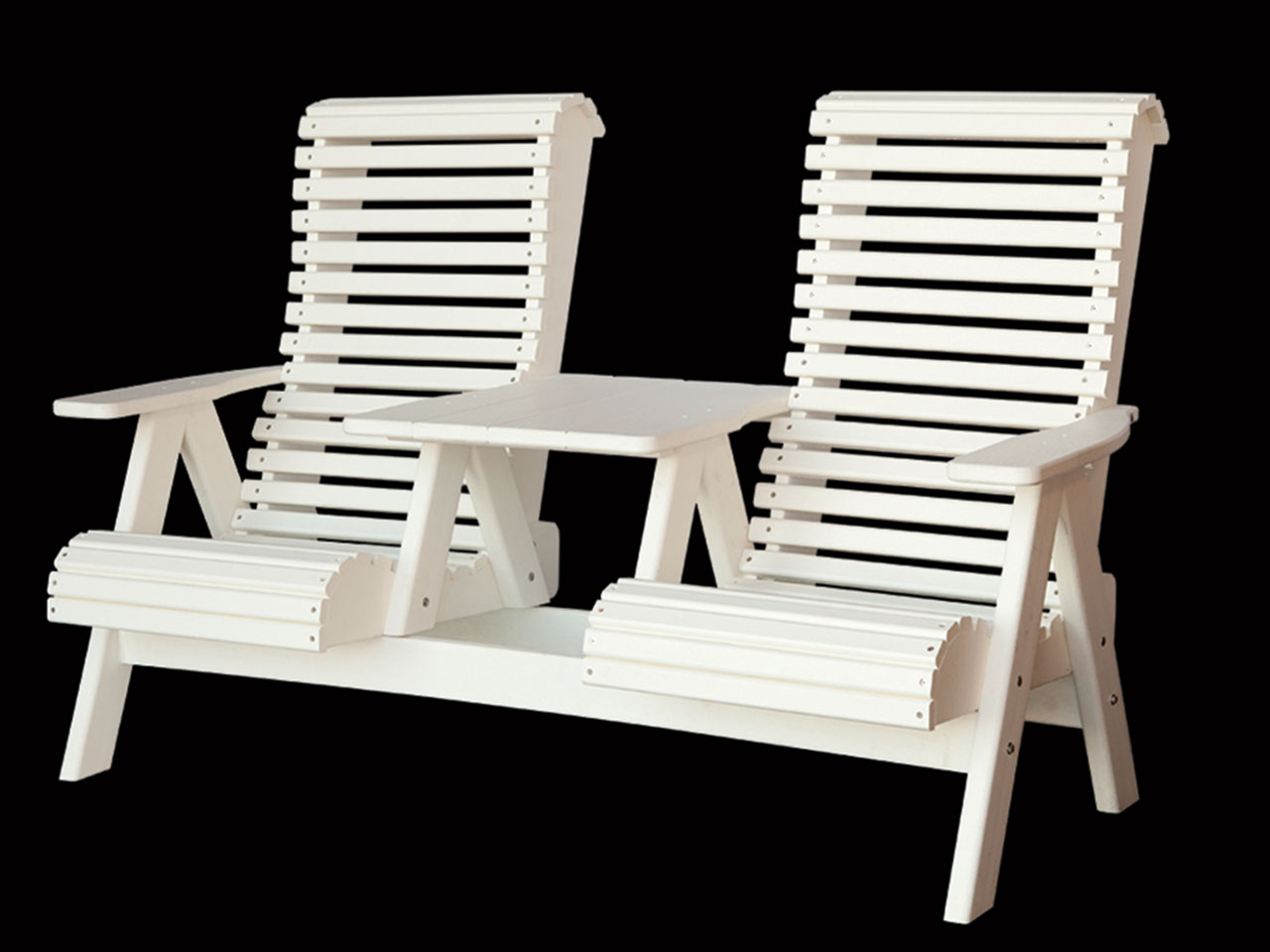 Outdoor furniture - poly settee