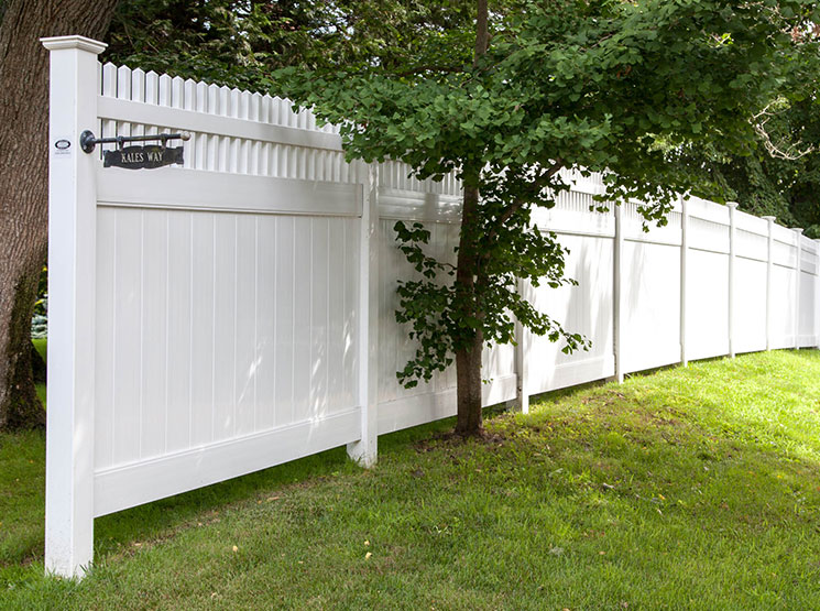 Vinyl tongue and groove privacy fence connecticut