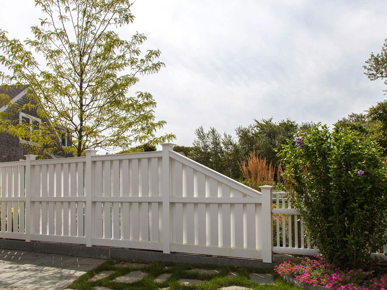 Semi Private Fence Cape Cod Fence Company