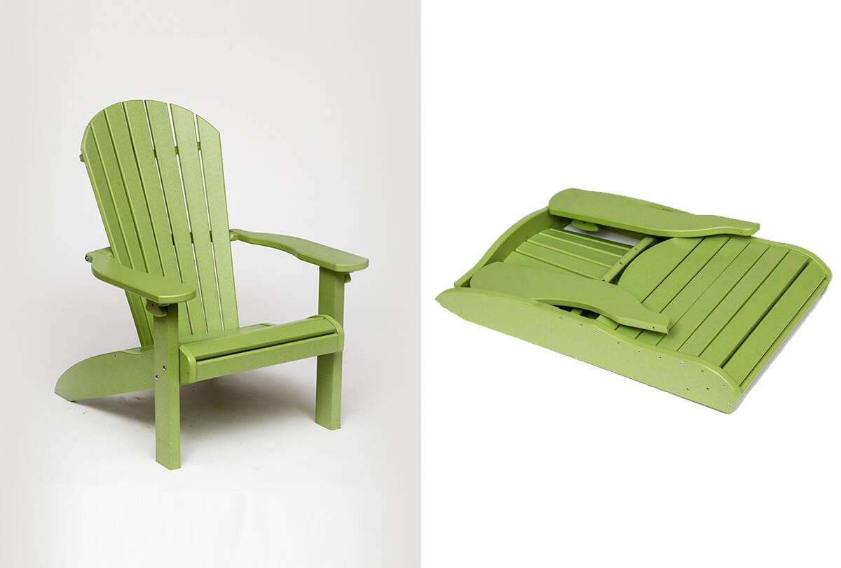 Poly beach chair