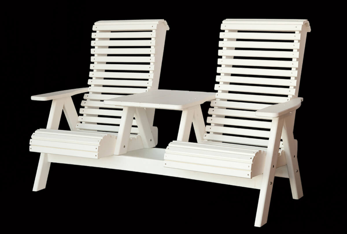 Poly settee