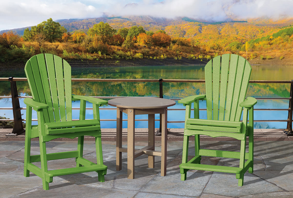 Adirondack balcony chair with 28